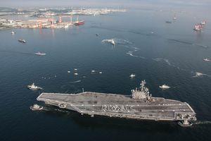 Siêu tàu sân bay Mỹ đi vào biển Đông, tín hiệu mãnh mẽ tới Trung Quốc
