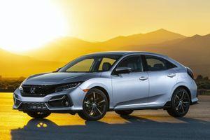 Honda Civic Sedan 2021 được ra mắt tại Mỹ