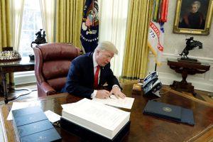 Đỉnh cao và vực sâu kinh tế của Tổng thống Mỹ Donald Trump