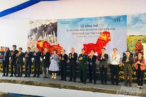 TH khởi công dự án chăn nuôi bò và chế biến sữa tại Cao Bằng