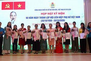 Họp mặt và hội thi hát Karaoke kỷ niệm 90 năm Ngày thành lập Hội LHPN Việt Nam