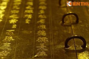 Bí mật sau những cuốn sách vàng ròng của nhà Nguyễn