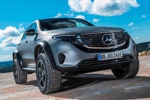 Lộ diện Mercedes-Benz EQC 4x4² bản chạy điện đầy cơ bắp