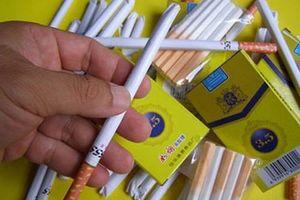 Xuất hiện loại 'kẹo thuốc lá' bủa vây các cổng trường học