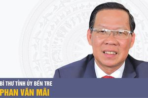 Bí thư Tỉnh ủy Bến Tre Phan Văn Mãi