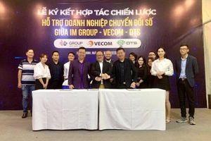 VECOM, Liên minh DTS, IM Group 'bắt tay' thúc đẩy doanh nghiệp chuyển đổi số