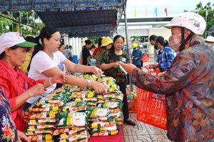 Phiên chợ 0 đồng hỗ trợ người nghèo xã Phước Hưng, huyện Long Điền