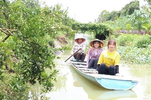 Phát triển kinh tế vườn kết hợp du lịch nâng cao nhu nhập người dân