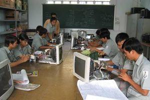 Học viên được đào tạo nghề có việc làm chiếm tỷ lệ cao