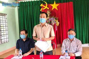 Phó Chủ tịch UBND tỉnh Đặng Ngọc Dũng kiểm tra công tác phòng, chống bệnh bạch hầu