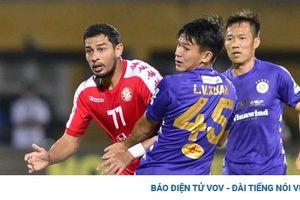 Hà Nội FC mất 'mũi khoan trái' ở trận đấu với Hà Tĩnh
