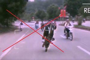 Triệu tập 20 nam sinh bốc đầu xe máy