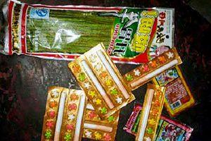 Khuyến cáo, kiểm soát việc mua bán 'kẹo thuốc lá'