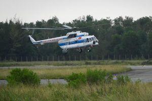 2 trực thăng sẵn sàng cứu hộ tại Quảng Trị