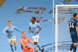 Raheem Sterling ghi bàn, Man City đánh bại Arsenal