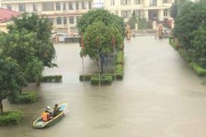 Lũ lên nhanh, gần 3.000 hộ dân ở Hà Tĩnh phải di dời khẩn cấp