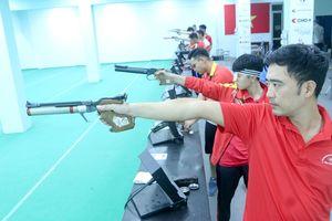 Đoàn Quân đội dẫn đầu tại Giải Tay súng xuất sắc quốc gia 2020