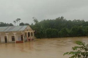 Mưa lớn, Hà Tĩnh ban hành công điện khẩn sơ tán dân khỏi vùng nguy hiểm