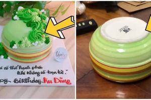 'Cú lừa' bánh sinh nhật khiến thanh niên khóc ròng vì uất