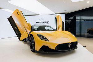Maserati MC20 2021 vừa công bố 7,1 tỷ đồng đã 'cháy hàng'