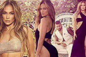 Jennifer Lopez mặc váy xẻ bạo đầy quyến rũ bên trai trẻ kém 25 tuổi