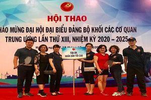 Hội thao chào mừng Đại hội Đảng bộ Khối lần thứ XIII nhiệm kỳ 2020-2025