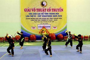 Thanh Hóa: Khởi tranh Giải võ thuật cổ truyền lần thứ IV - Cúp Vinaphone