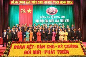 Đại hội Đại biểu Đảng bộ tỉnh Phú Yên lần thứ XVII thành công tốt đẹp