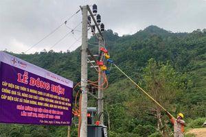 Điện Biên: Đưa điện về vùng cao Tà Moòng