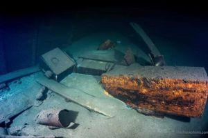Xác tàu Đức Quốc Xã có thể chứa kho báu từ 'Căn phòng hổ phách' nổi tiếng