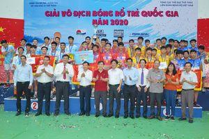 Bế mạc Giải vô địch Bóng rổ trẻ Quốc gia năm 2020