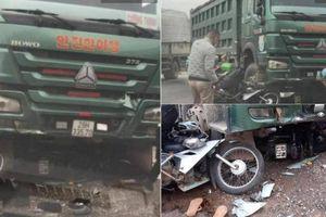 Xe 'hổ vồ' cuốn 2 xe máy, 3 người vào gầm: Một nạn nhân tử vong tại chỗ