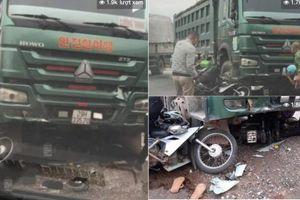 Tai nạn giao thông sáng 18/10: Xe 'hổ vồ' cuốn 2 xe máy và 3 người vào gầm