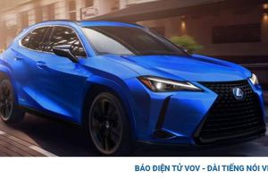 Cận cảnh Lexus UX Black Line 2021 sản xuất giới hạn 1.000 xe