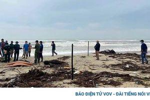 Phát hiện thi thể người đàn ông nước ngoài ở bờ biển Quảng Nam