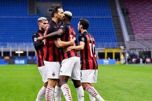 Ibrahimovic lập cú đúp ở derby Milan, AC Milan vững vàng trên đỉnh Serie A