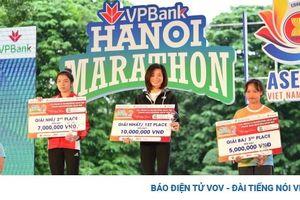 'Cô gái vàng' Nguyễn Thị Oanh không có đối thủ ở Hanoi Marathon ASEAN 2020