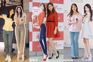 Còn ai 'lầy' như Yoona: Chụp ảnh với standee quảng cáo để khoe chân không dài như ảnh