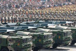 Trung Quốc triển khai siêu tên lửa DF-17 gần đảo Đài Loan