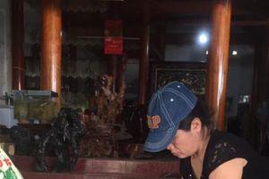 Mô hình nông hộ làm dầu lạc ở Hà Tĩnh