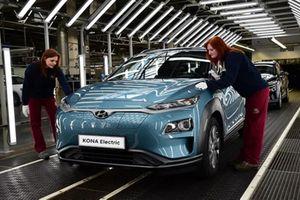Hyundai tham vọng dẫn đầu phân khúc xe điện ở Châu Âu