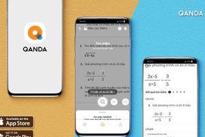 Ứng dụng giải toán QANDA có thể xử lý 1 tỷ đề bài toán