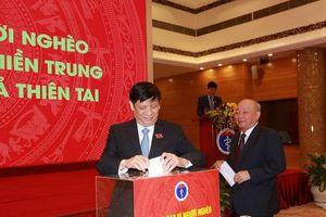 Quyền Bộ trưởng Bộ Y tế kêu gọi ủng hộ miền Trung