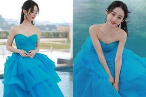 Kim Ưng 2020: Triệu Lệ Dĩnh đẹp như công chúa, ý nghĩa của chiếc váy mới khiến fan trầm trồ