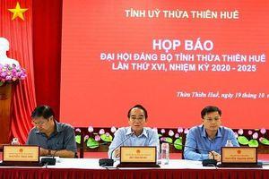 Đại hội đại biểu Đảng bộ Thừa Thiên Huế lần thứ XVI chỉ phát tài liệu, không tặng quà