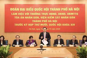 Bí thư Vương Đình Huệ: Hà Nội muốn sớm vận hành đường sắt Cát Linh – Hà Đông