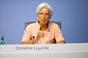 Chủ tịch ECB kêu gọi EU nhanh chóng triển khai chương trình kích thích kinh tế