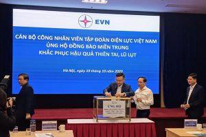 EVN phát động ủng hộ miền Trung khắc phục hậu quả thiên tai, lũ lụt