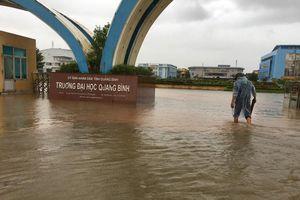 Thông tin các hồ đập thủy lợi ở Quảng Bình xả lũ là không chính xác