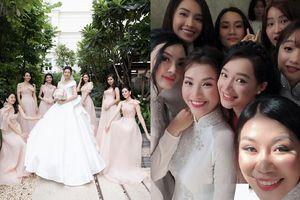 Khi các nàng hậu Việt làm phù dâu, cô dâu xinh đến mấy cũng thấp thỏm vì sợ bị chiếm sóng